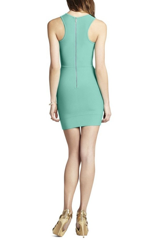 Herve Leger New Style Round Neck Sleeveless Dress