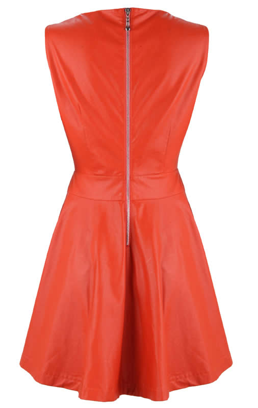 Herve Leger New Style Red Cut Out Dress