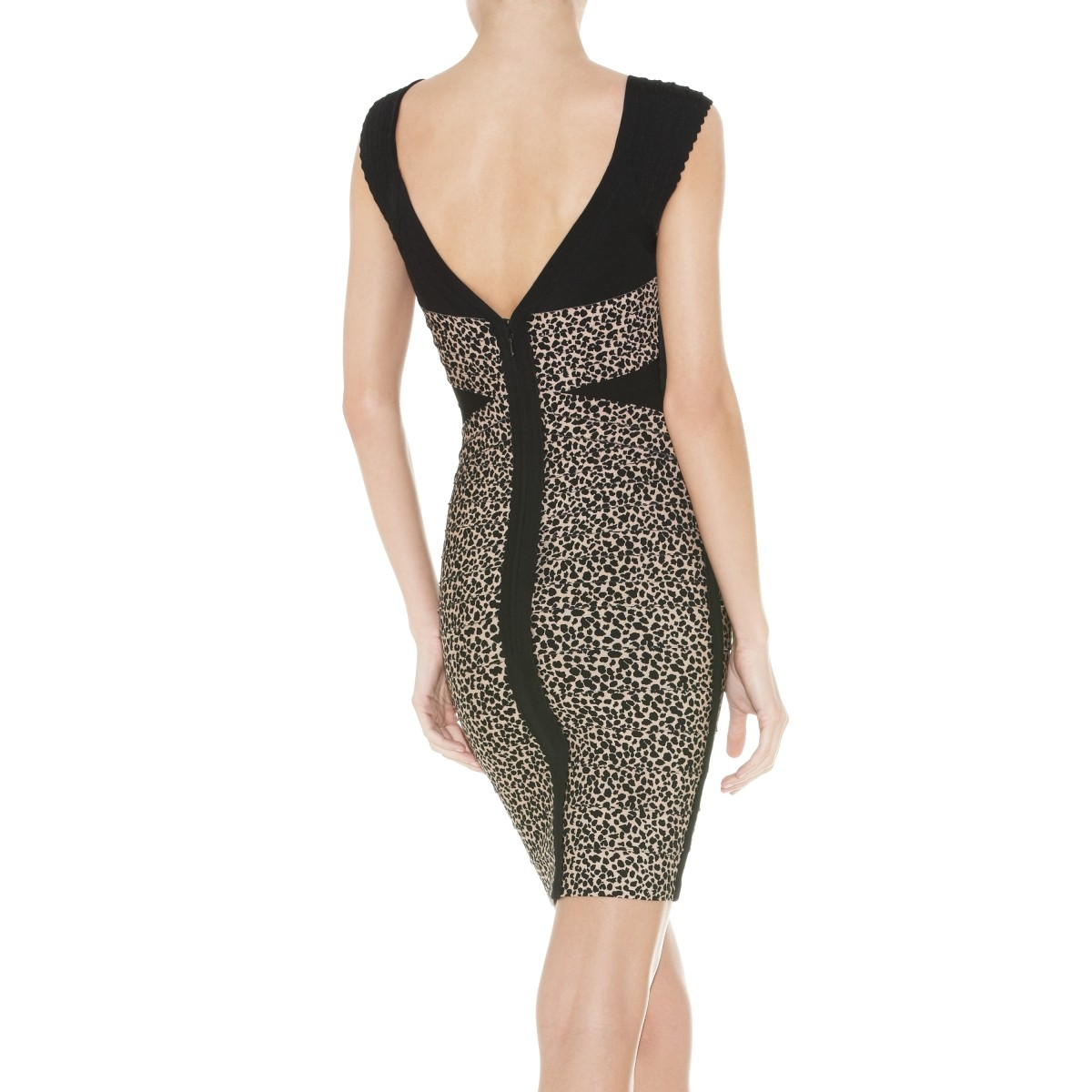 Herve Leger Bijou Bandage Dress