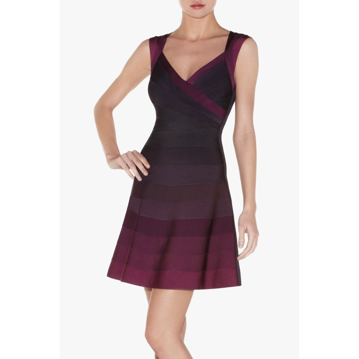 Herve Leger Edita Bandage Dress