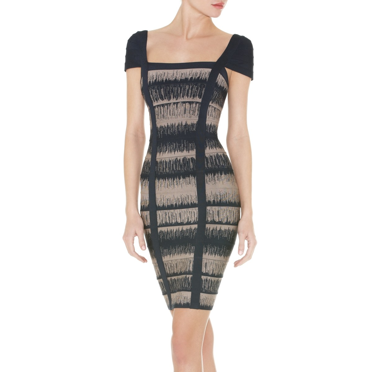 Herve Leger Gemma Bandage Dress