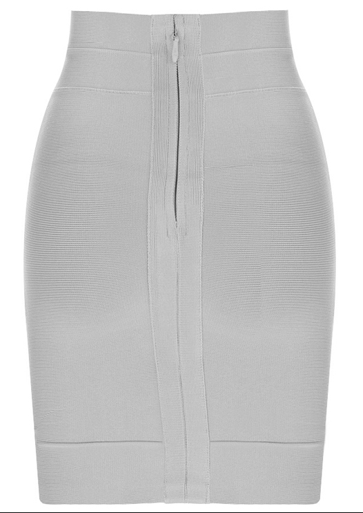 Herve Leger 2015 Grey Bandage Skirt