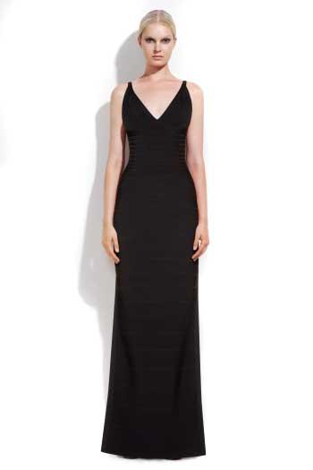 Herve Leger Long Dressbuy Black Herve Leger Long Dress Online