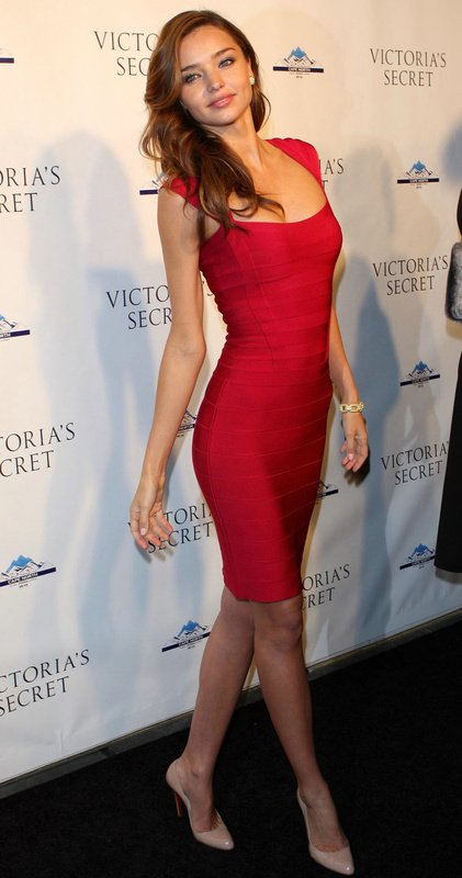 The Latest Fashion Herve Leger Red Dress