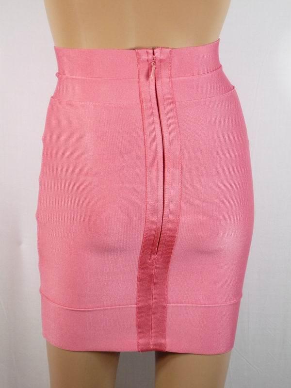 2a435b95c09d Herve Leger mini skirt pink,2011 new Herve Leger mini skirt.