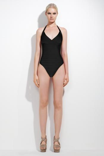 Herve Leger Swimwear Black