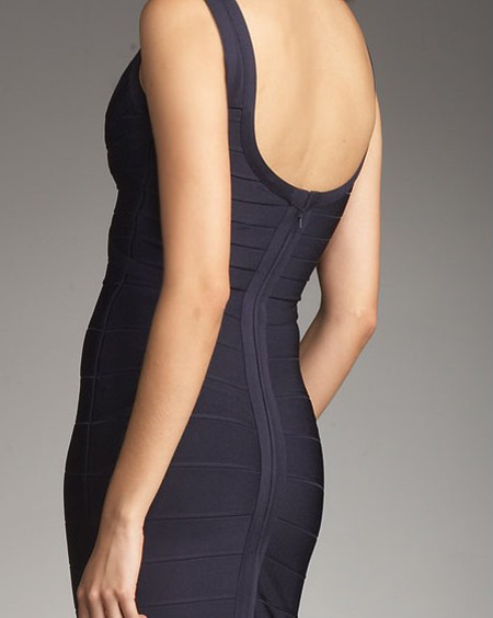 Discount Herve Leger Black Dress