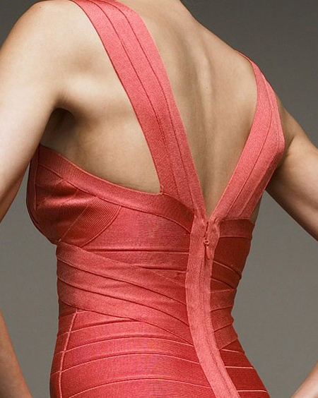 Discount Herve Leger Red Dress