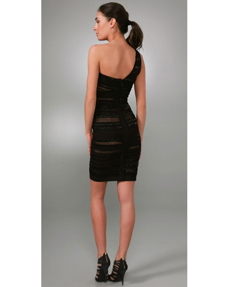 Herve Leger One Shoulder