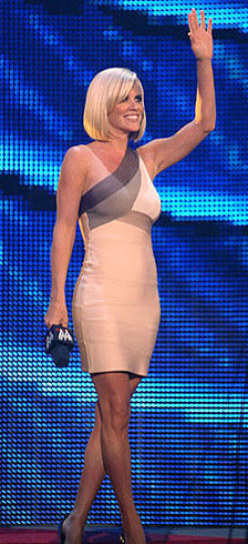 Jenny McCarthy In Herve Leger