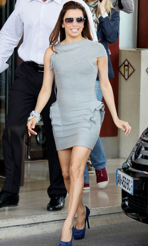 Herve Leger Eva Longoria Dress