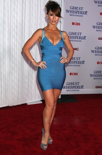 Herve Leger Jennifer Love Hewitt Dress