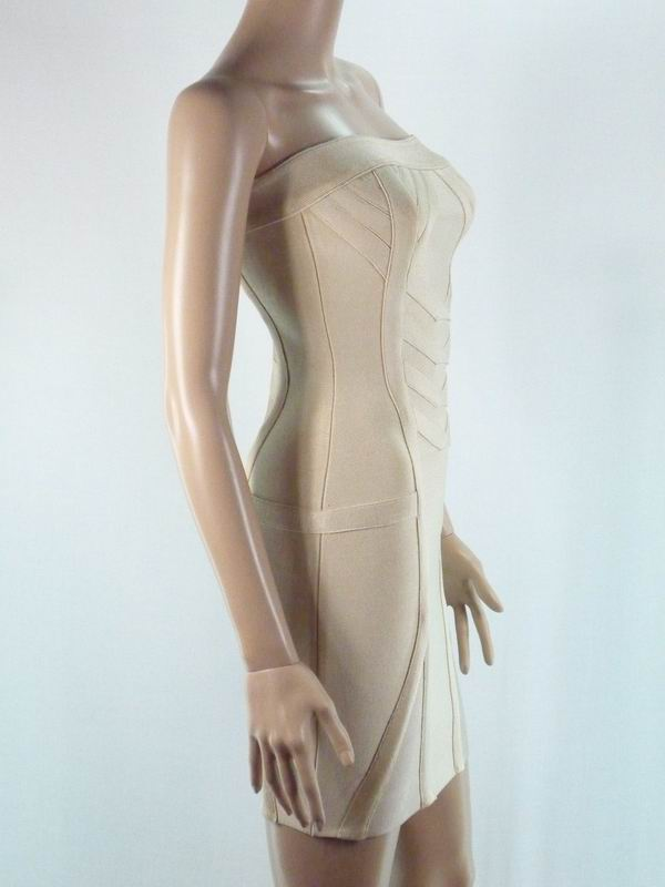 Herve Leger Jessica Simpson Dress