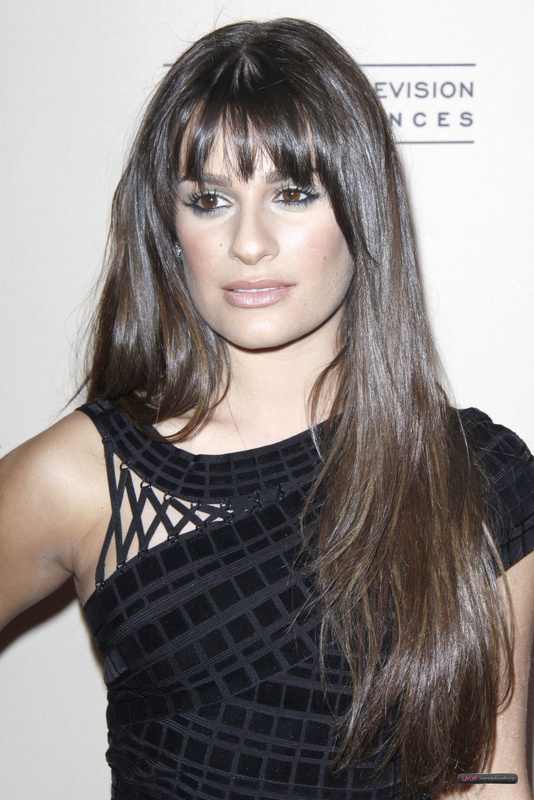 Herve Leger Lea Michele Dress