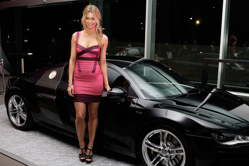 Herve Leger Leona Lewis Dress