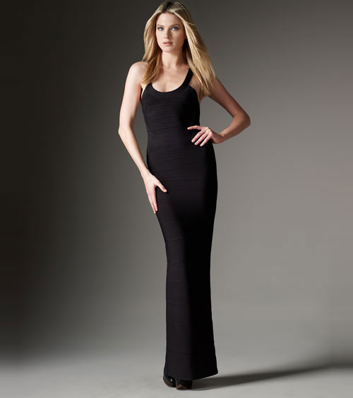 Herve Leger New Style Black Bandage Gown