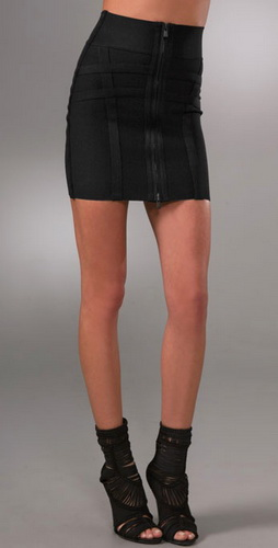 Herve Leger Signature Essentials Bandage Skirt