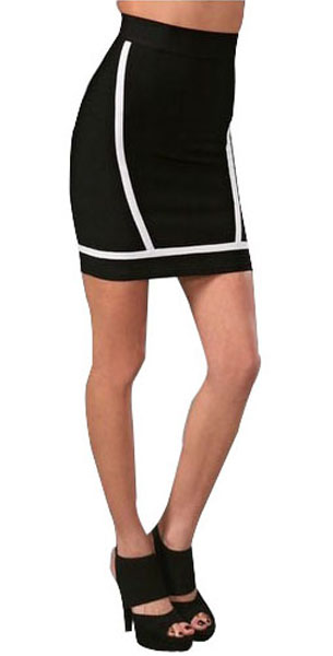 Herve Leger Skirts Sporty Pencil