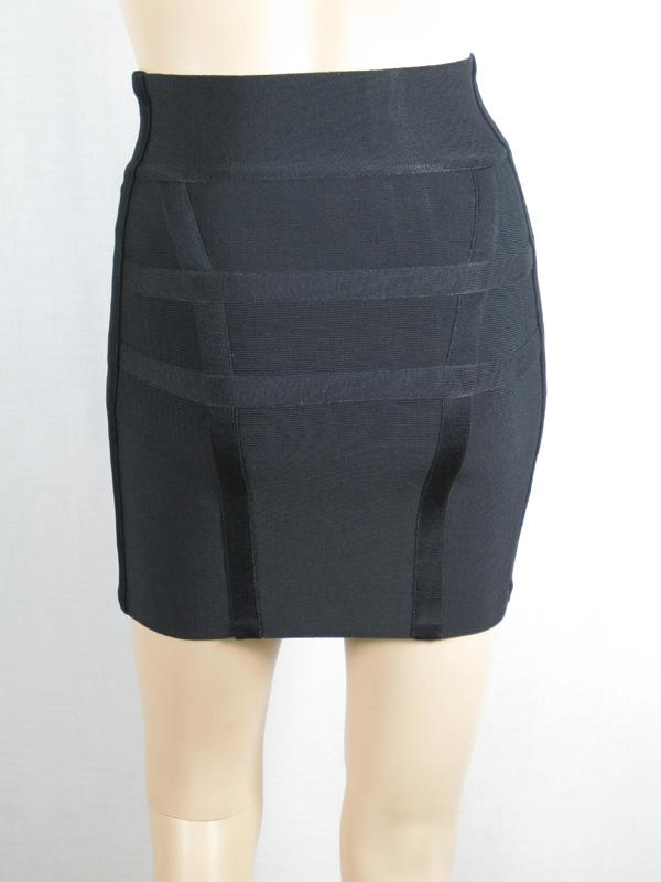 Herve Leger Mini Skirts Black