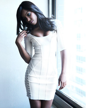 Kelly Rowland Dress Herve Leger White Dress Kelly Rowland Dress