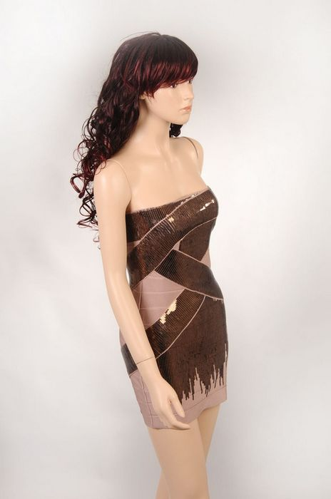 Mila Kunis Dress Herve Leger Beaded Bandage Dress Mila