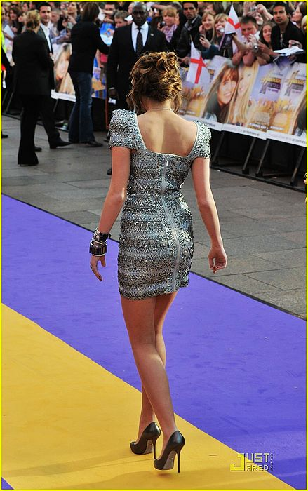 Miley Cyrus Herve Leger Dress